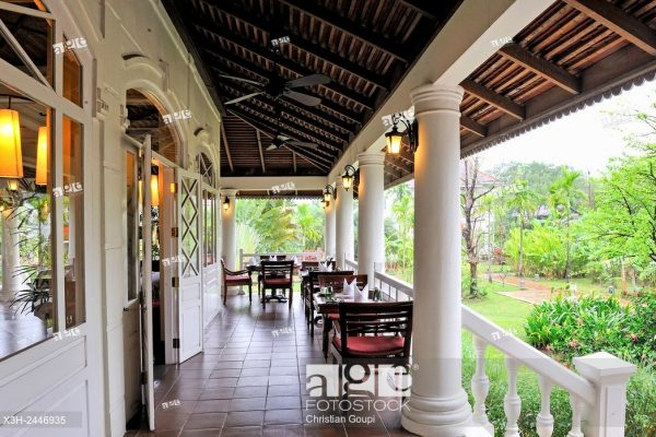 Luang Say Residence Hotel, Luang Prabang, Laos, Southeast Asia.